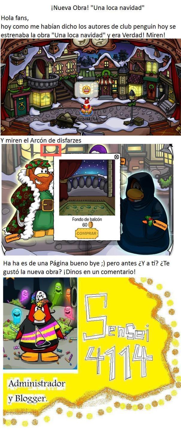 """Nueva obra """"Una Loca Navidad"""""""